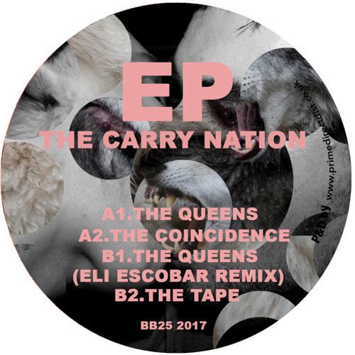 "Carry Nation/THE QUEENS-ELI ESCOBAR 12"""