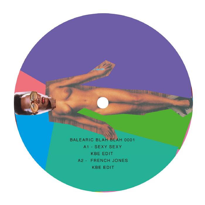 "KBE/BALEARIC BLAH BLAH EP #1 12"""