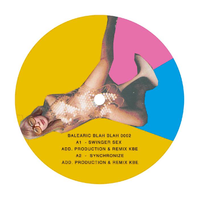 "KBE/BALEARIC BLAH BLAH EP #2 12"""