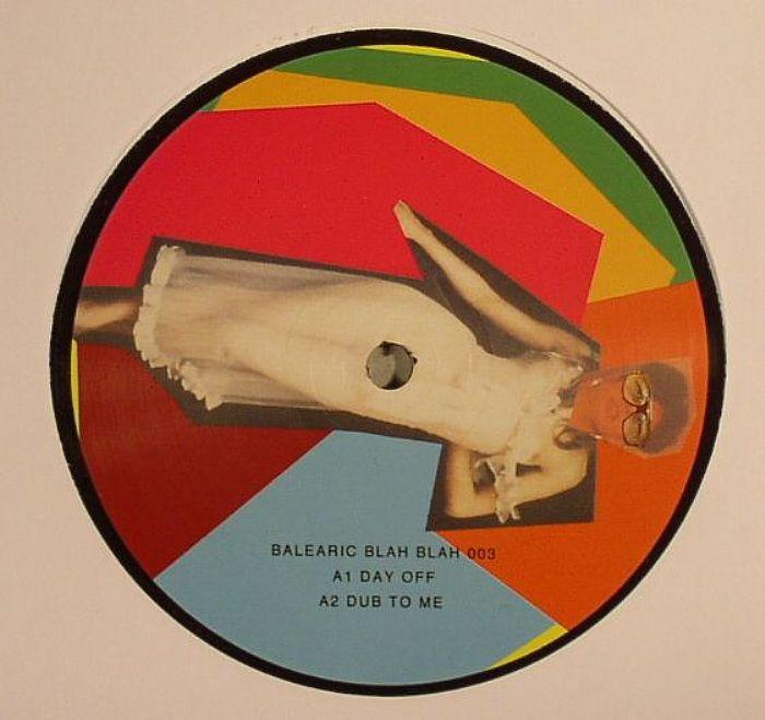 "KBE/BALEARIC BLAH BLAH EP #3 12"""
