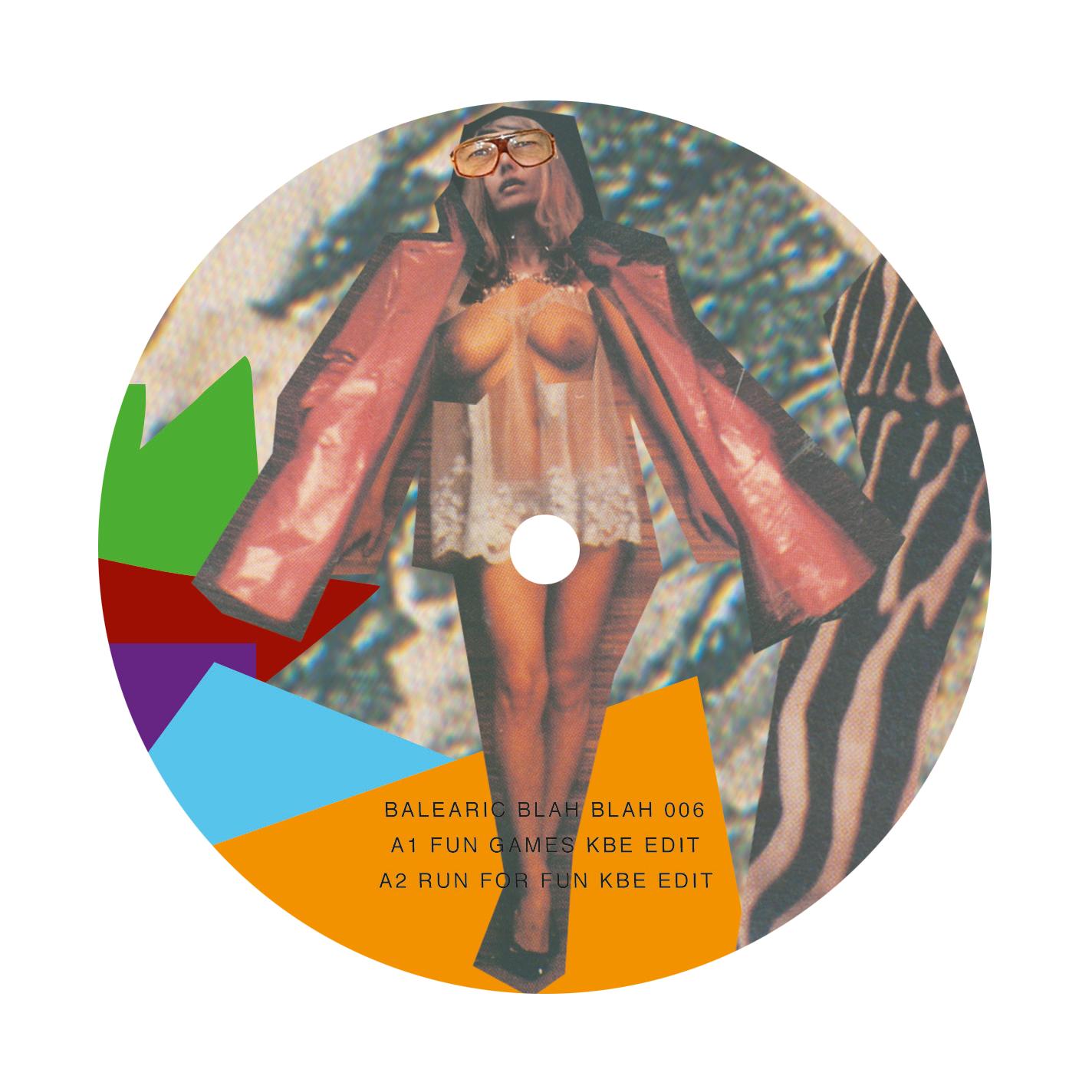 "KBE/BALEARIC BLAH BLAH EP #6 12"""