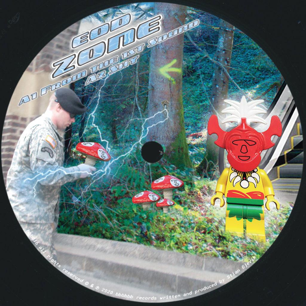 """EOD/ZONE EP 12"""""""