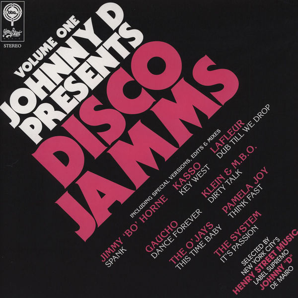 Various/JOHNNY D PTS DISCO JAMMS V1 DLP