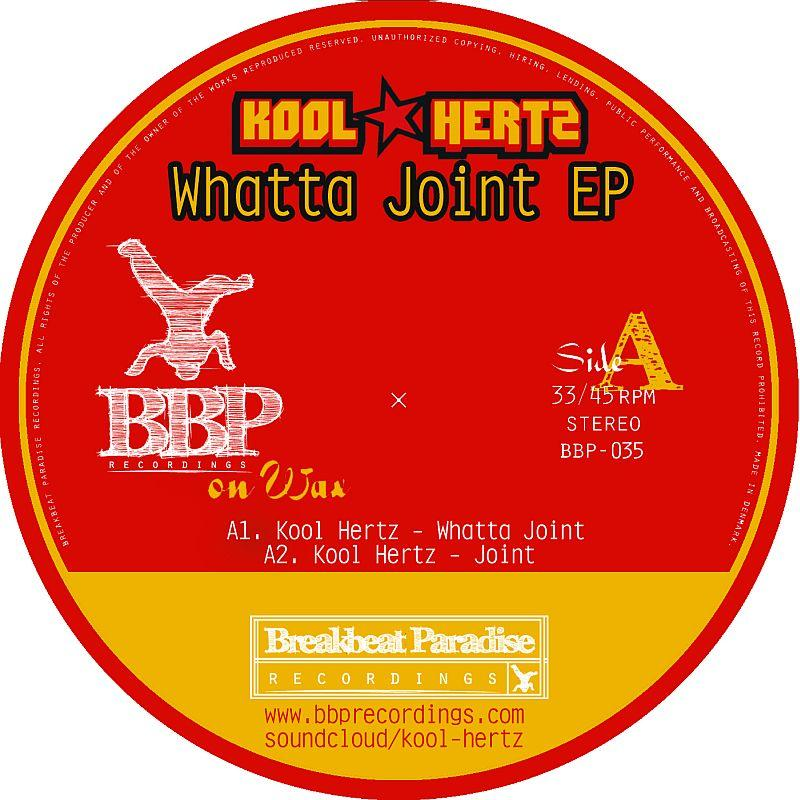Kool Hertz/WHATTA JOINT EP  12""
