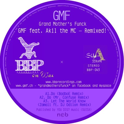 GMF/FEATURING AKIL THE MC REMIXED  12""