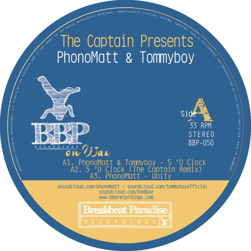 Captain, The/PHONOMATT & TOMMYBOY 12""
