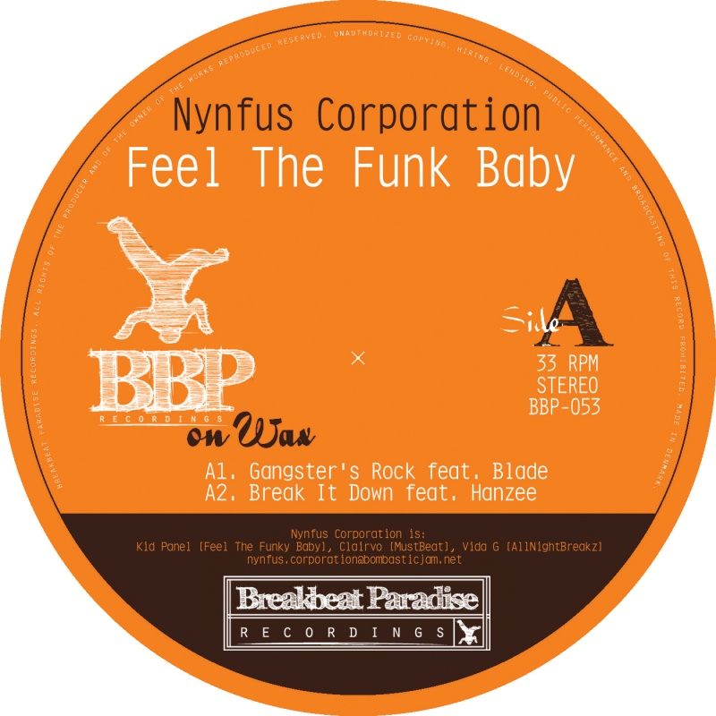 Nynfus Corporation/FEEL THE FUNK 12""