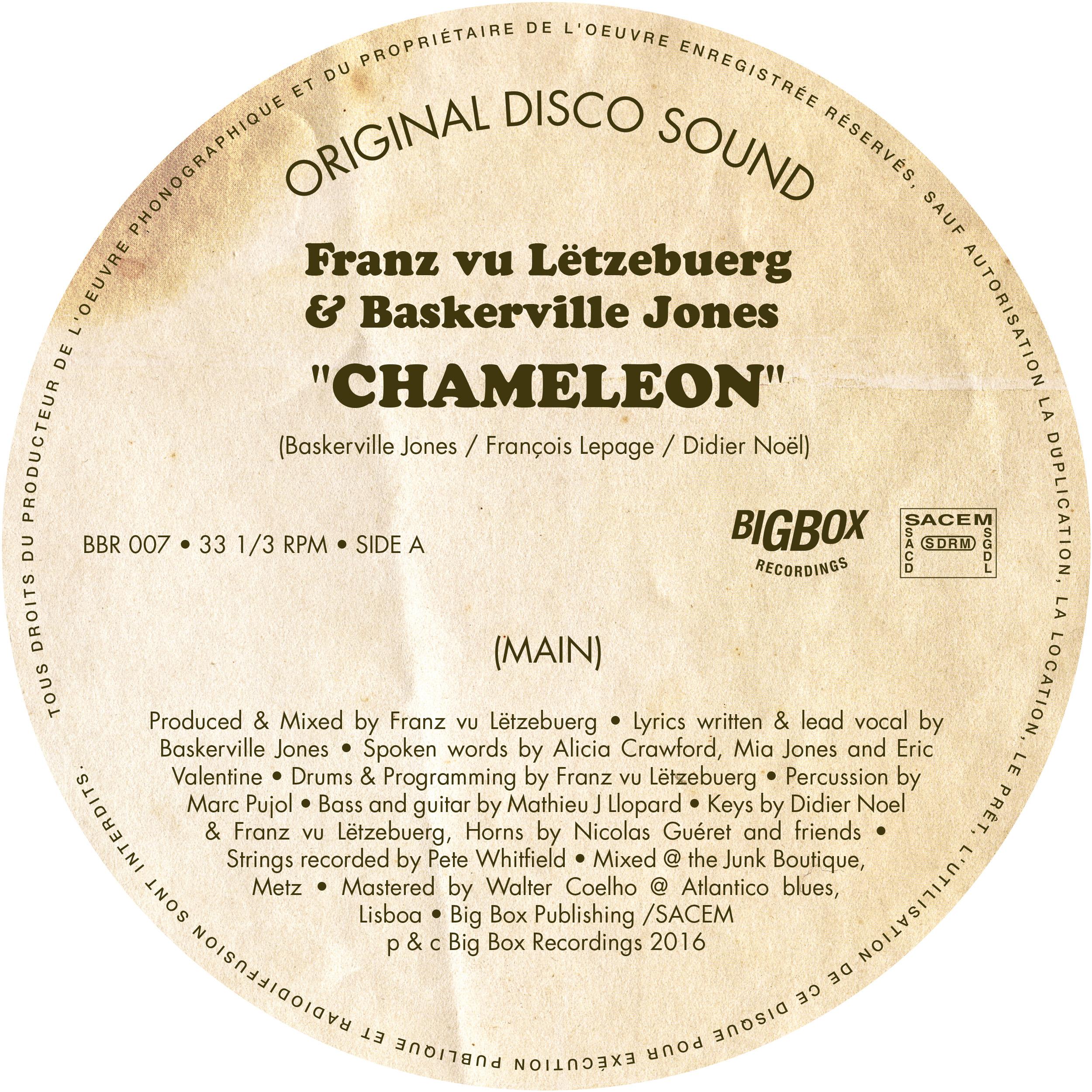 "Franz vu Letzebeurg/CHAMELEON 12"""
