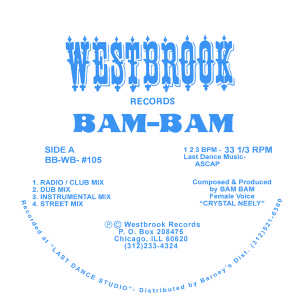 Bam-Bam/GIVE IT TO ME 12""