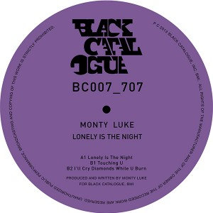 Monty Luke/LONELY IS THE NIGHT 12""