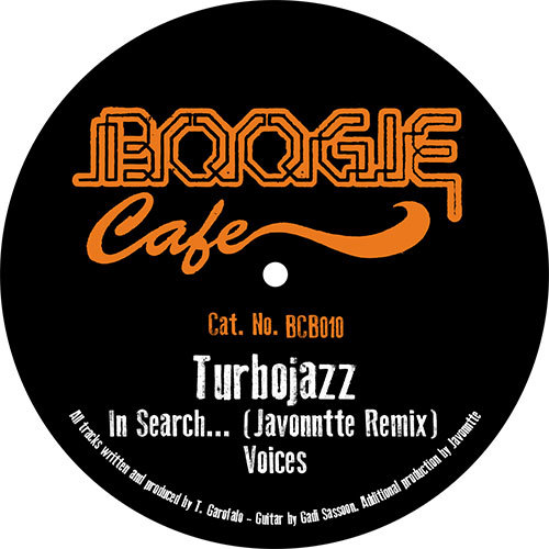 "Turbojazz/IN SEARCH (JAVONNTTE RMX) 12"""