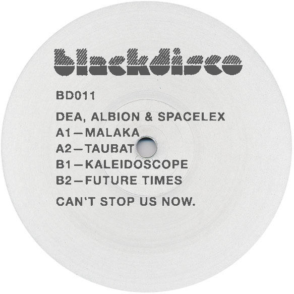 Dea, Albion & Spacelex/BLACKDISCO XI 12""