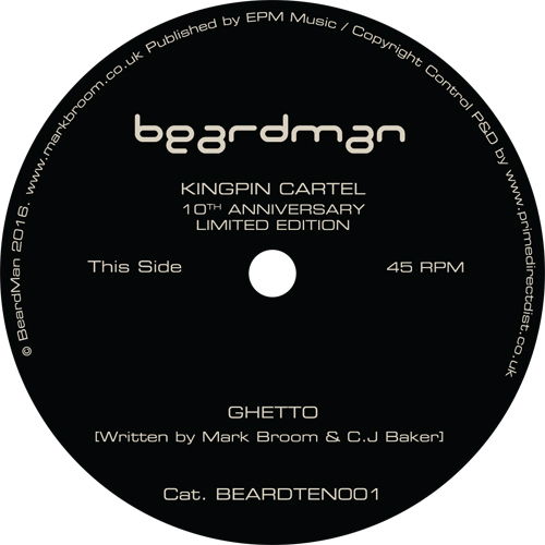 Kingpin Cartel/GHETTO (1-SIDED) 10""