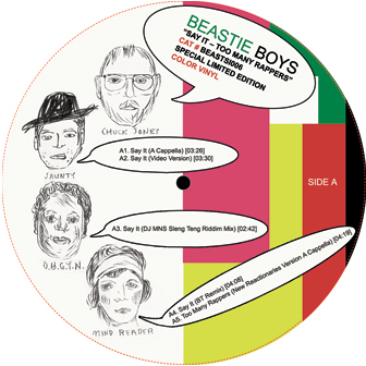Beastie Boys/SAY IT REMIX 12""