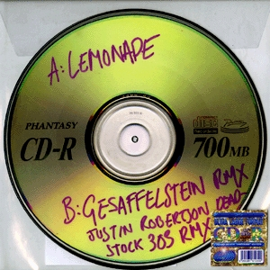 "Boys Noize & Erol Alkan/LEMONADE RMX 12"""