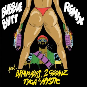 Major Lazer & Bruno Mars/BUBBLE BUTT 12""
