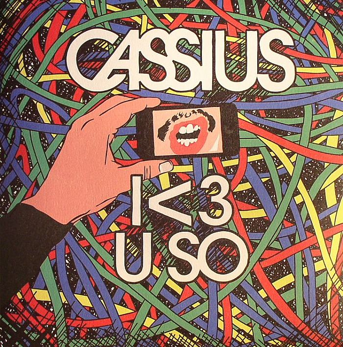 Cassius/I LOVE YOU SO (SKREAM REMIX) 12""