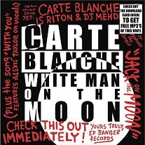 """Carte Blanche/WHITE MAN ON THE MOON 12"""""""
