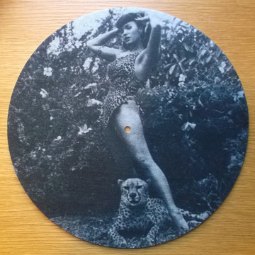 Bettie Page/JUNGLE SLIPMAT