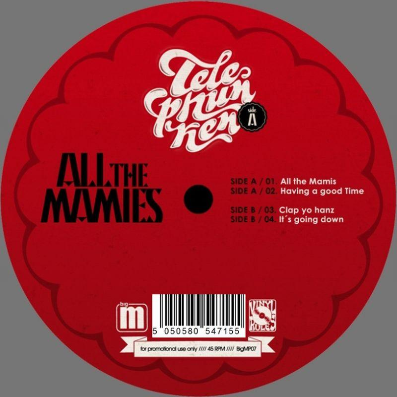 Telephunken/ALL THE MAMIS EP 12""