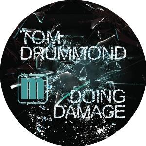 "Tom Drummond/DOING DAMAGE EP 12"""
