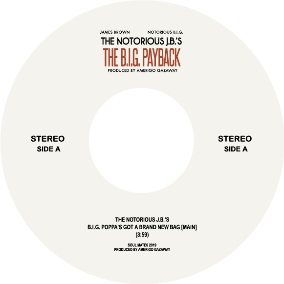 Biggie vs James Brown/B.I.G. PAYBACK 7""