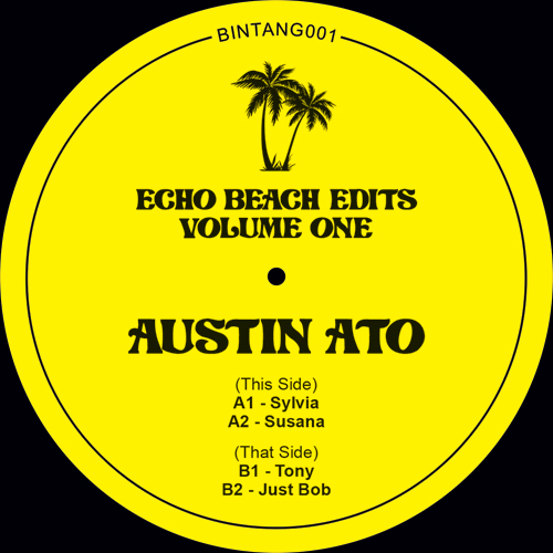 Austin Ato/ECHO BEACH EDITS VOL. 1 12""