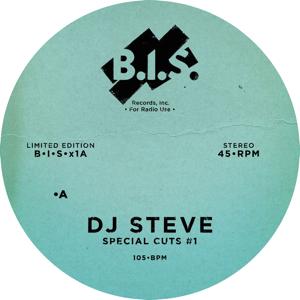 """DJ Steve/SPECIAL CUTS #1 12"""""""