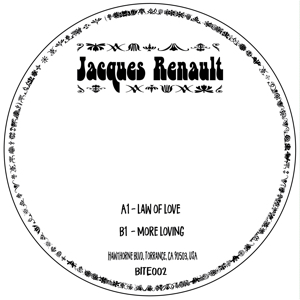 Jacques Renault/LAW OF LOVE 7""