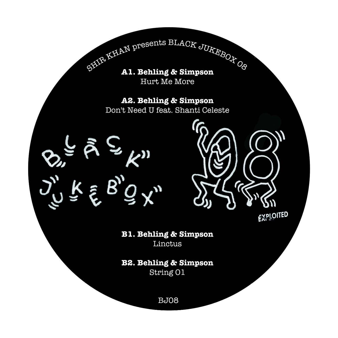 Behling & Simpson/BLACK JUKEBOX 08 12""