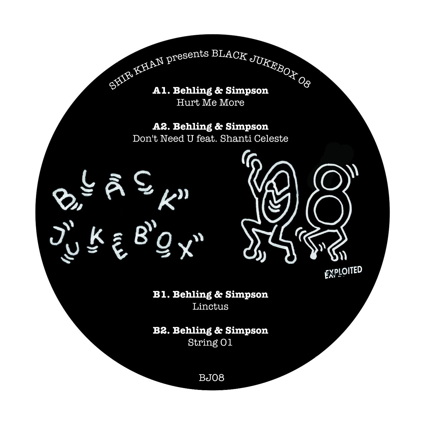 "Behling & Simpson/BLACK JUKEBOX 08 12"""