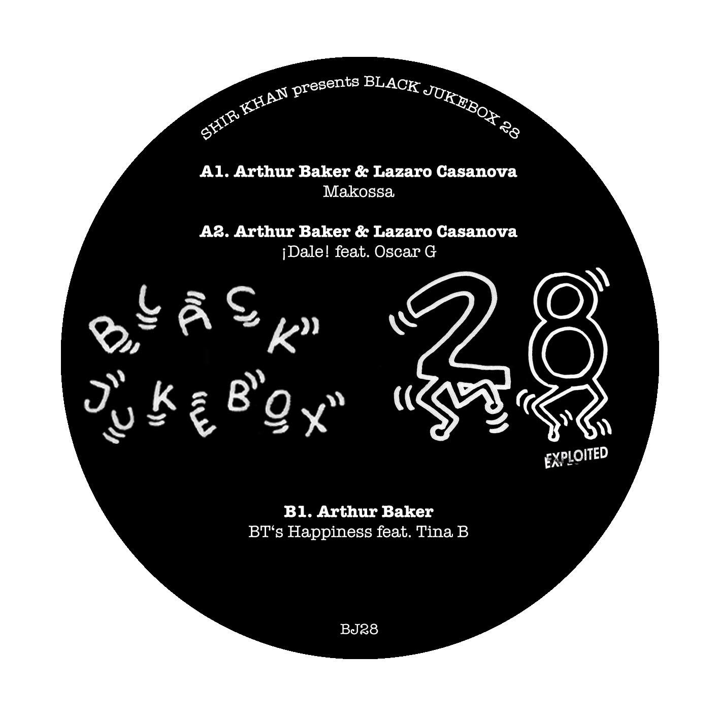 "Arthur Baker & Lazara Casanova/BJ28 12"""