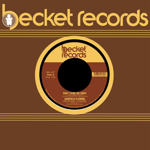 Garfield Fleming/DON'T SEND ME AWAY 7""