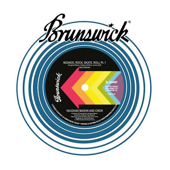 "Vaughan Mason/BOUNCE, ROCK, SKATE... 7"""