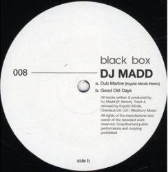 DJ Madd/DUB MARINE-KRYPTIC MINDS RMX 12""