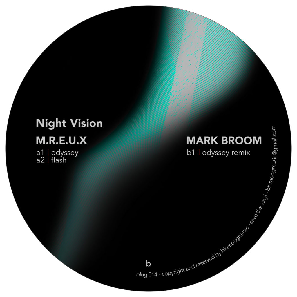 """M.R.E.U.X./NIGHT VISION EP 12"""""""