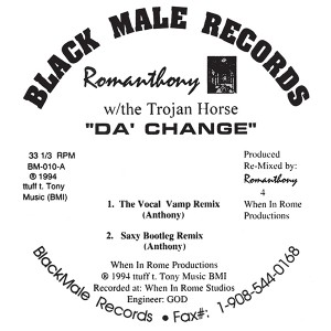 Romanthony/DA CHANGE 12""