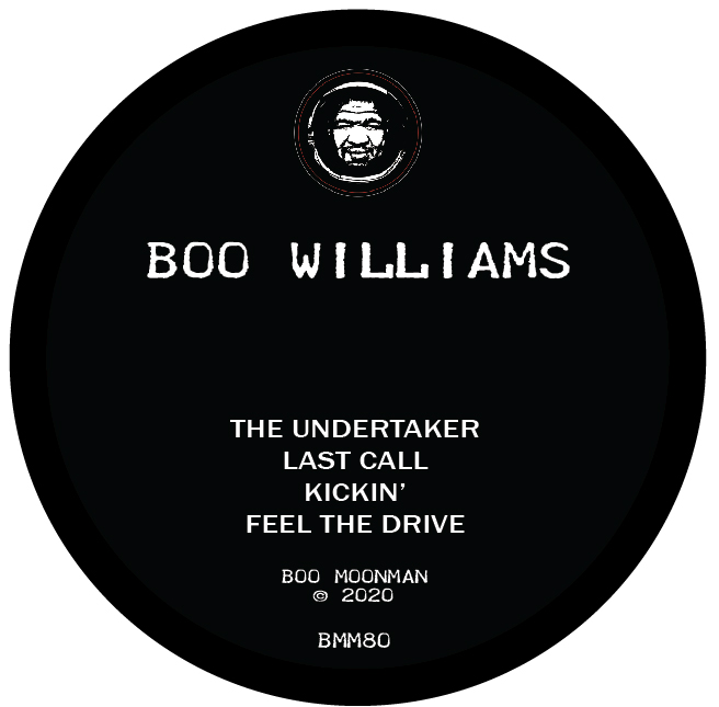 Boo Williams/THE UNDERTAKER 12""