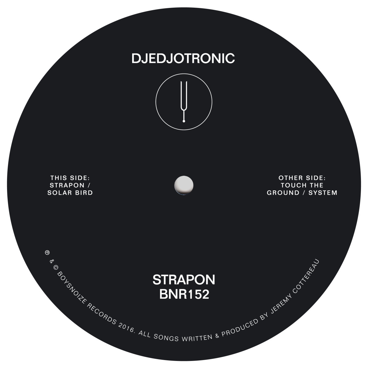 "Djedjotronic/STRAPON 12"""