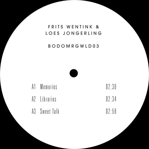 Frits Wentink/BODOMRGWLD03 EP 12""