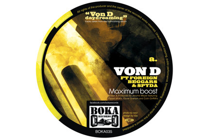 Von D/MAXIMUM BOOST 12""