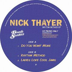 Nick Thayer/RHYTHM METHOD EP  12""