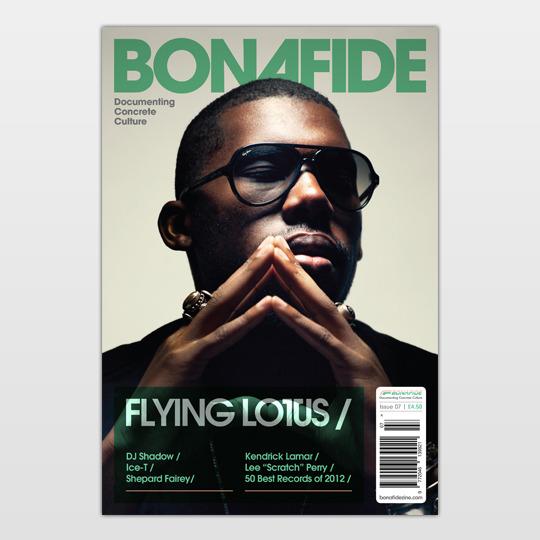 Bonafide/ISSUE 7 (FLYING LOTUS) MAG