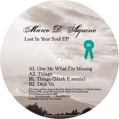Marco D'Aquino/LOST IN YOUR SOUL EP 12""