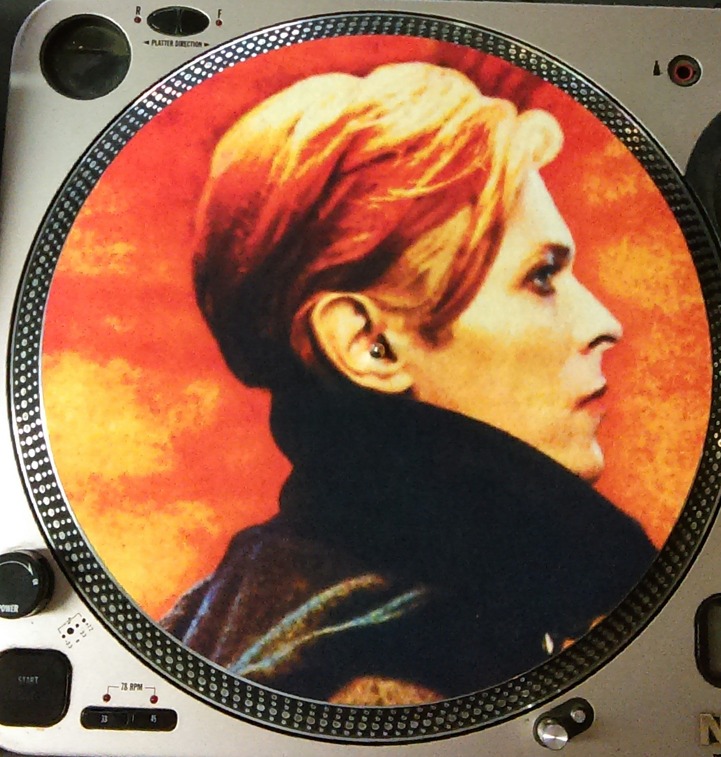 David Bowie/LOW LP SLIPMAT
