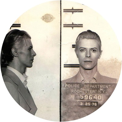 David Bowie/MUGSHOT SLIPMAT