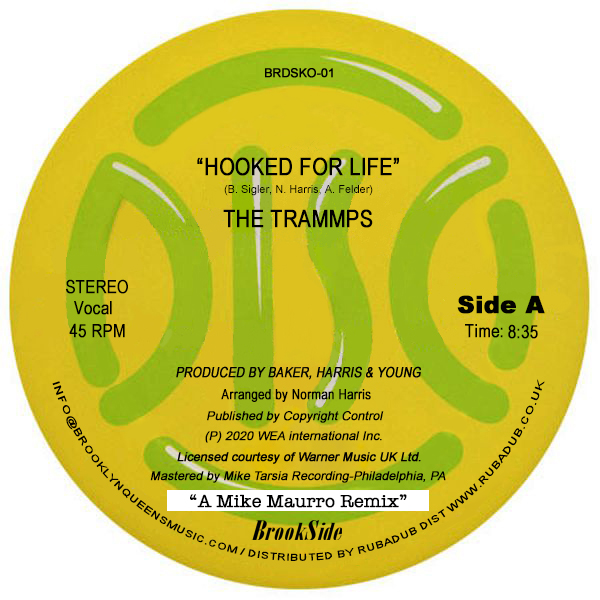 """Trammps/HOOKED FOR LIFE-M MAURRO RMX 12"""""""