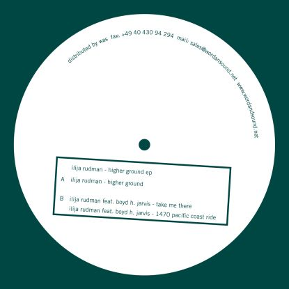 Ilija Rudman/HIGHER GROUND 12""