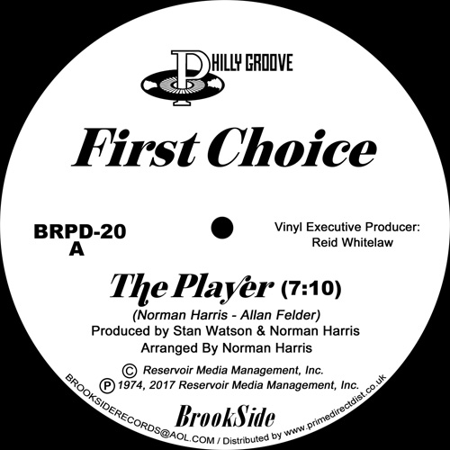 First Choice/THE PLAYER 12""