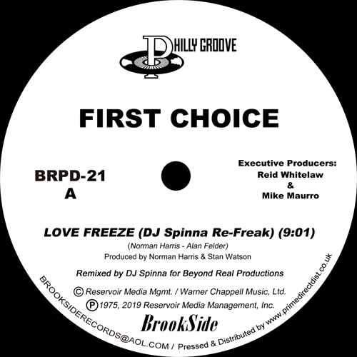 First Choice/LOVE FREEZE-DJ SPINNA 12""